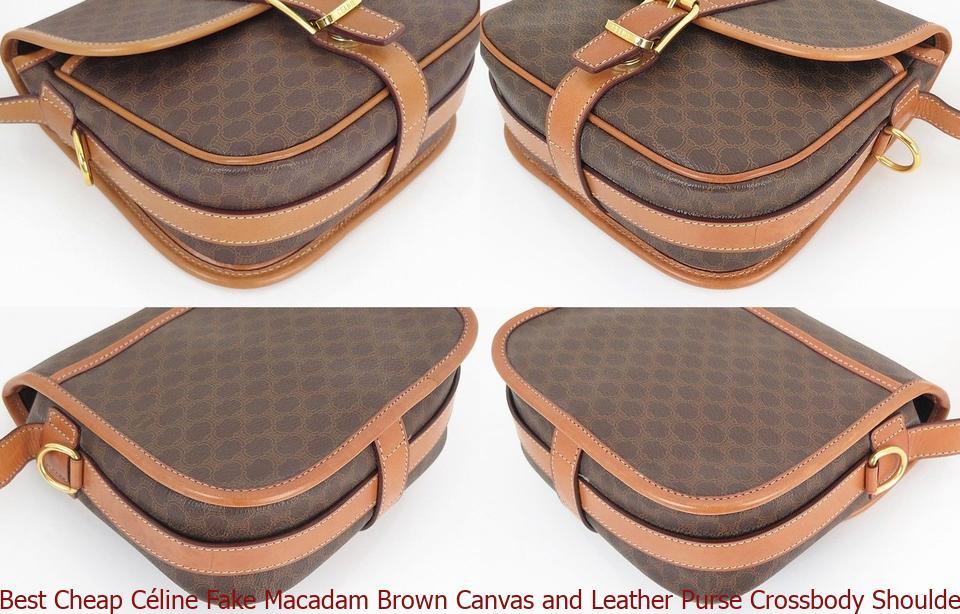 Best Cheap Céline Fake Macadam Brown Canvas and Leather Purse Crossbody  Shoulder Bag celine bag a121c3d6267f6