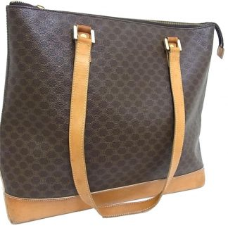 312dc5eb51f5 You re viewing  Cheap Designer Handbags Céline Designer Replica Macadam  Paris Shopping Tote Hand Purse Monogram Brown Canvas   Leather Shoulder Bag  celine ...