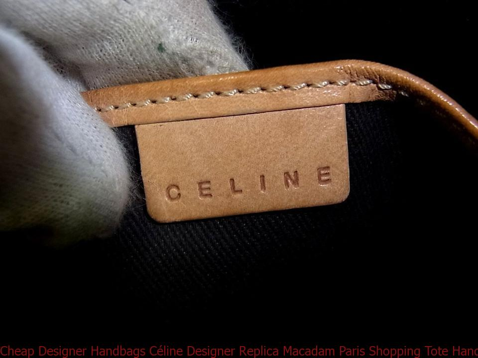 Cheap Designer Handbags Céline Designer Replica Macadam Paris Shopping Tote  Hand Purse Monogram Brown Canvas   Leather Shoulder Bag celine bucket bag 40968e6b07712