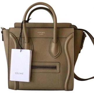7531907d6103 Perfect Quality Céline Knockoff Luggage Nano In Dune Leather Cross Body Bag  celine bucket bag