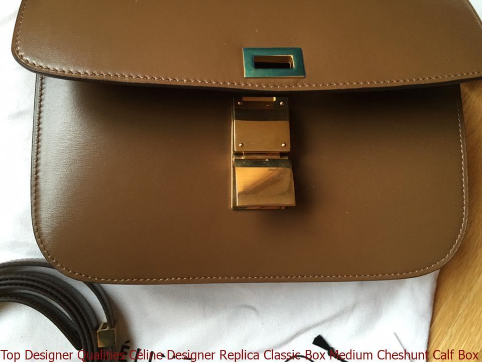 Top Designer Qualities Céline Designer Replica Classic Box Medium Cheshunt  Calf Box Leather and Lambskin Shoulder Bag celine bag price 5db898dbe615c